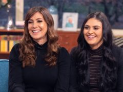 Kym Marsh and daughter Emilie on This Morning (Ken McKay/ITV/REX/Shutterstock).