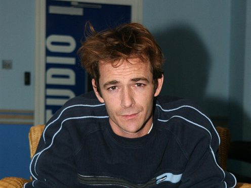 Luke Perry (Anthony Harvey/PA)