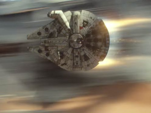 Screen grab image taken from the Star Wars YouTube channel of a scene from Star Wars: Episode VII (Star Wars/YouTube)