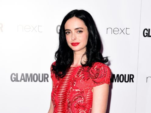 Netflix has cancelled its remaining Marvel shows The Punisher and Jessica Jones, which stars Krysten Ritter (Ian West/PA Wire)