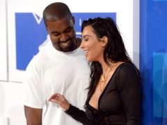 Kanye and Kim (PA)