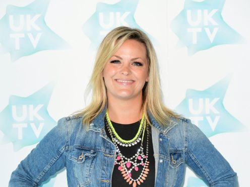 Jo Joyner said the first series of Shakespeare & Hathaway – Private Investigators featured a kiss scene that was cut (Ian West/PA)