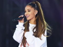 Ariana Grande performing during the One Love Manchester benefit concert for the victims of the Manchester Arena terror attack at Emirates Old Trafford, Greater Manchester. (Dave Hogan for One Love Manchest)