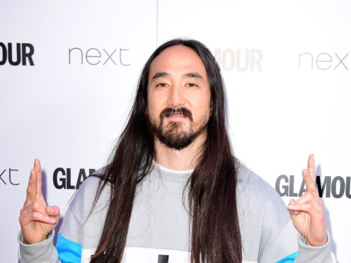 Steve Aoki scored a UK number two single with his collaboration with Louis Tomlinson (Ian West/PA)