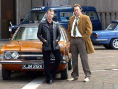 John Simm (L) and Philip Glenister. (Neil Jones/PA)