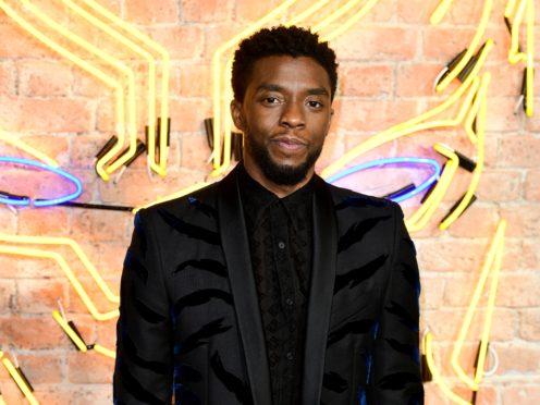 Chadwick Boseman, who stars in Black Panther (Ian West/PA)