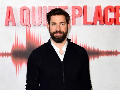 John Krasinski has confirmed he is working on a sequel to the successful horror film A Quiet Place (Ian West./PA)