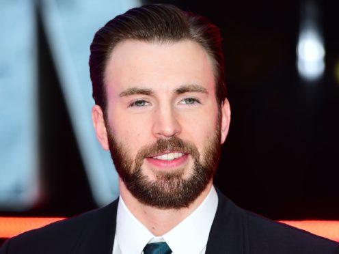 Captain America star Chris Evans starred in the Avengers: Endgame trailer (Ian West/PA)