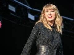 Taylor Swift made a surprise appearance (Ben Birchall/PA)