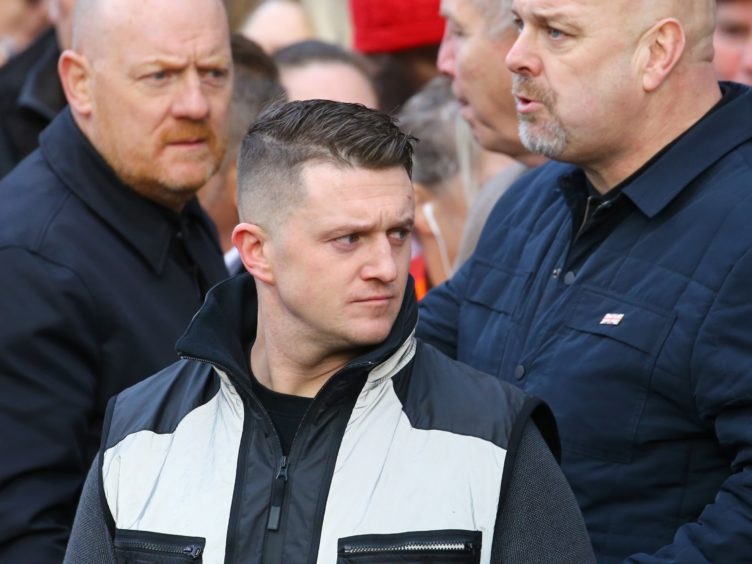 Tommy Robinson has been permanently banned from Facebook (Gareth Fuller/PA)