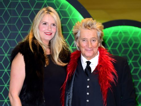 Sir Rod Stewart endured sleepless nights while wife Penny Lancaster was training with the police for a reality TV show (Ian West/PA)