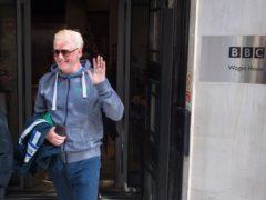 Chris Evans grew in listeners just before BBC Radio 2 exit (Dominic Lipinski/PA)