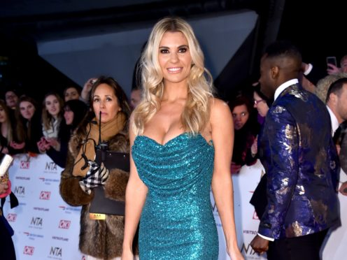 Christine McGuinness reassured fans after sharing a selfie from a hospital bed (Matt Crossick/PA)