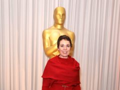 Olivia Colman attending the Oscars Nominee Champagne Tea Reception (Isabel Infantes/PA)