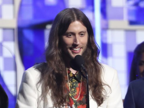 Grammy-winning producer Ludwig Goransson name-checked rapper 21 Savage at the awards (Matt Sayles/Invision/AP)