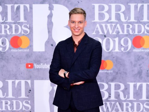 George Ezra secured the first award of the night (Victoria Jones/PA)