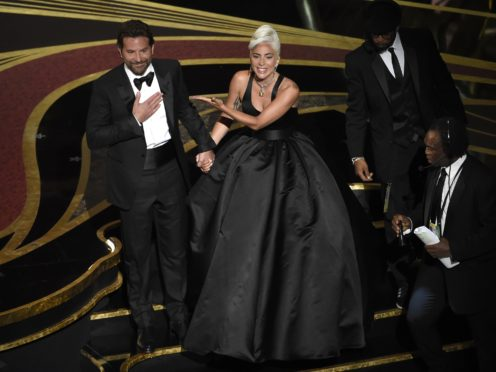 Lady Gaga praised Bradley Cooper following their Oscars duet (Chris Pizzello/Invision/AP)