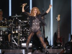Shakira performing in Mexico City (Marco Ugarte/AP)
