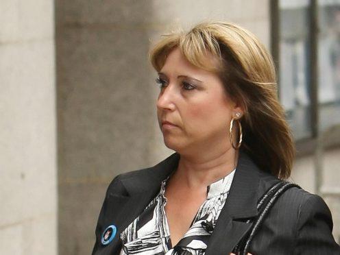 James Bulger's mother, Denise Fergus (Dominic Lipinski/PA)