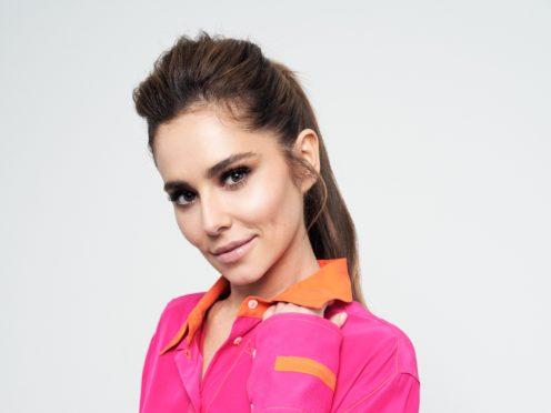 Cheryl said she has always been a lover of dance (Joe Magowan/PA)