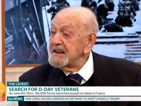 Ted Cordery on Good Morning Britain (Good Morning Britain/Twitter)