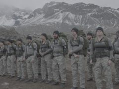The recruits on SAS: Who Dares Wins (Channel 4)