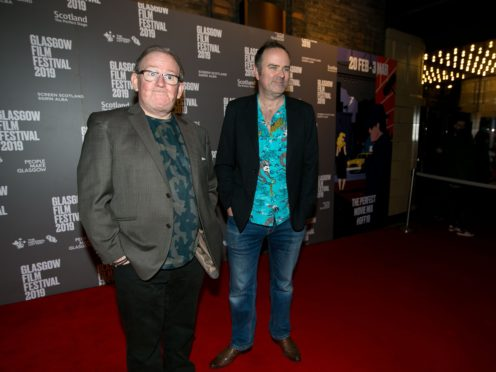Ford Kiernan (left) and Greg Hemphill at the A Life in Still Game event at the Glasgow Film Festival (Eoin Carey/PA)