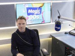 Ronan Keating in the Magic Radio studio (Magic FM/PA)