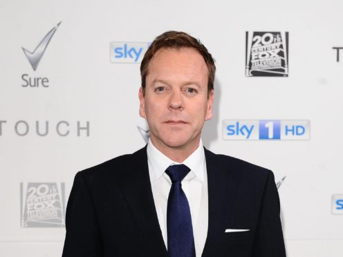 Kiefer Sutherland was unaware of his father's talents (Ian West/PA)