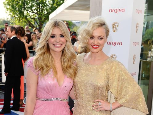 Holly Willoughby (left) and Fearne Cotton (Ian West/PA)