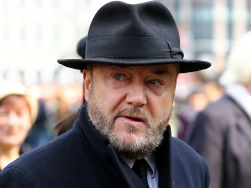 Former MP George Galloway has been found in breach of broadcasting rules (Gareth Fuller/PA)