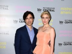 Noah Baumbach and Greta Gerwig have welcomed their first child together (Ian West/PA)