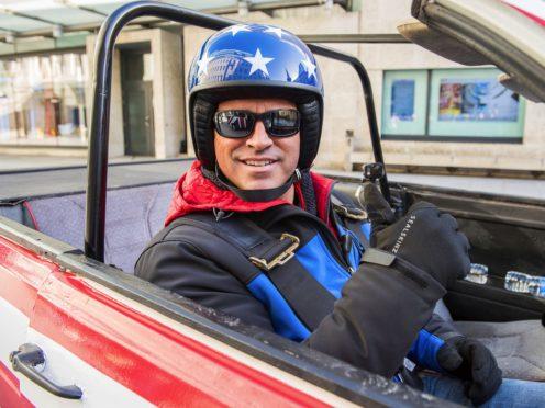 Matt LeBlanc on Top Gear (BBC)