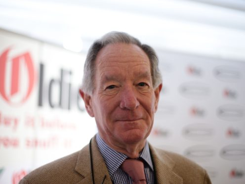Michael Buerk has said wealthy parents can help get a foot in the door.(Yui Mok/PA)