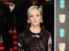 Andrea Riseborough attending the EE British Academy Film Awards held at the Royal Albert Hall, Kensington Gore, Kensington, London.