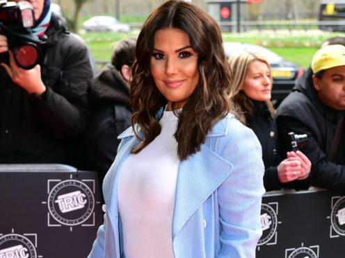 Rebekah Vardy is among celebrities highlighting the importance of smear tests (Ian West/PA)