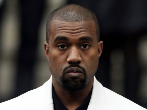 Kanye West is attempting to free himself from his record contract (Jonathan Brady/PA)