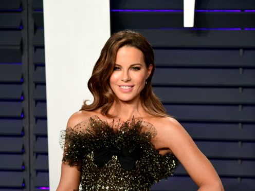 Kate Beckinsale has opened up on her relationship with Pete Davidson (Ian West/PA)
