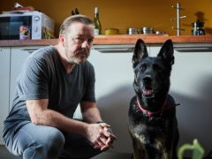 Ricky Gervais has announced plans for a second series on Twitter.(Natalie Seery/Netflix)