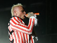 Keith Flint was found dead at his home in Essex on March 4 (Niall Carson/PA)