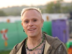 Keith Flint died as a result of hanging, an inquest has heard (Anthony Devlin/PA)
