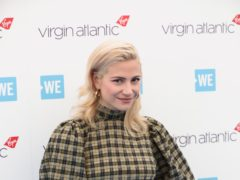 Pixie Lott arrives at the WE Day event in London (Jonathan Brady/PA)