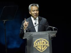 Kevin Tsujihara, chairman and chief executive of Warner Bros, is stepping down (Chris Pizzello/Invision/AP)
