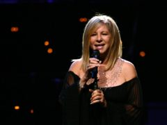 Barbra Streisand on stage (PA)
