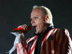 The funeral of Keith Flint will take place (Niall Carson/PA)