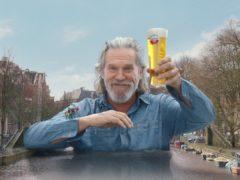 Hollywood star Jeff Bridges has filmed for Amstel.