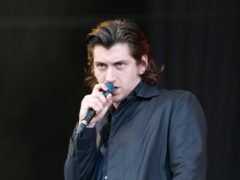 Arctic Monkeys frontman Alex Turner penned the track Four Out Of Five (Jane Barlow/PA)