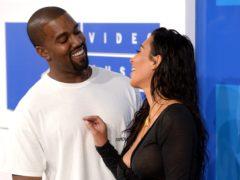Kim Kardashian West and Kanye West (PA)