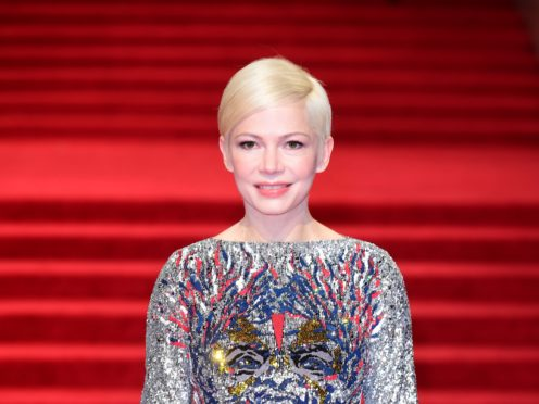 Michelle Williams has opened up on the gender pay gap (Ian West/PA)