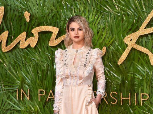 Selena Gomez was among the celebrities spotted at the Coachella music festival (Matt Crossick/PA Wire)